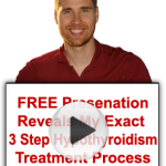 This video shows a natural solution to hypothyroidism